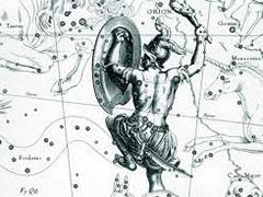 Древнегреческие мифи о звездах